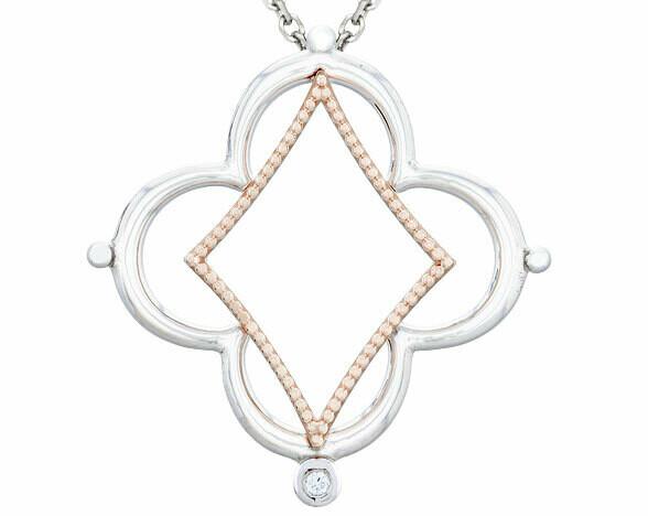 Bella Italia—Silver & Rose Gold