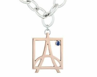 Skyline Bracelet—Rose Gold/Sapphire