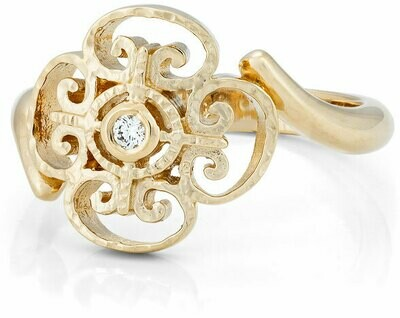 CC Porte d'Italia©—14k Yellow Gold