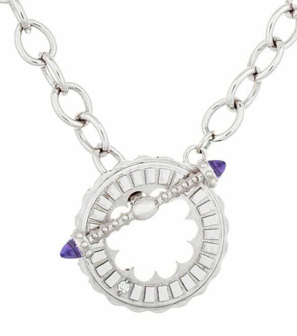 Sacré-Coeur—Silver & Amethyst Bracelet/Necklace