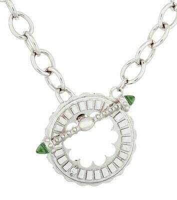 CC Sacré-Coeur©—Silver & Peridot Bracelet/Necklace