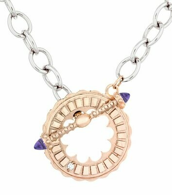 CC Sacré-Coeur©—Rose Gold & Amethyst Bracelet/Necklace