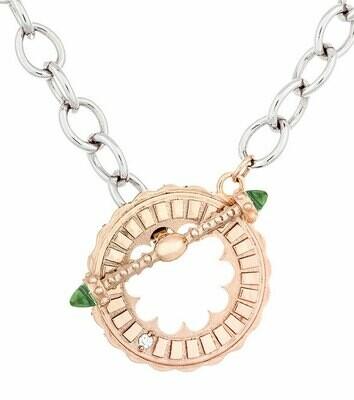 Sacré-Coeur—Rose Gold & Peridot Bracelet/Necklace