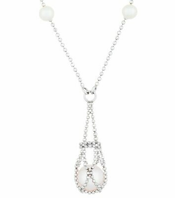 Imperial Lace Pearl Pendant