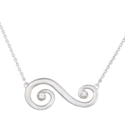 CC Barcelona Scroll—Classic© - Sterling Silver
