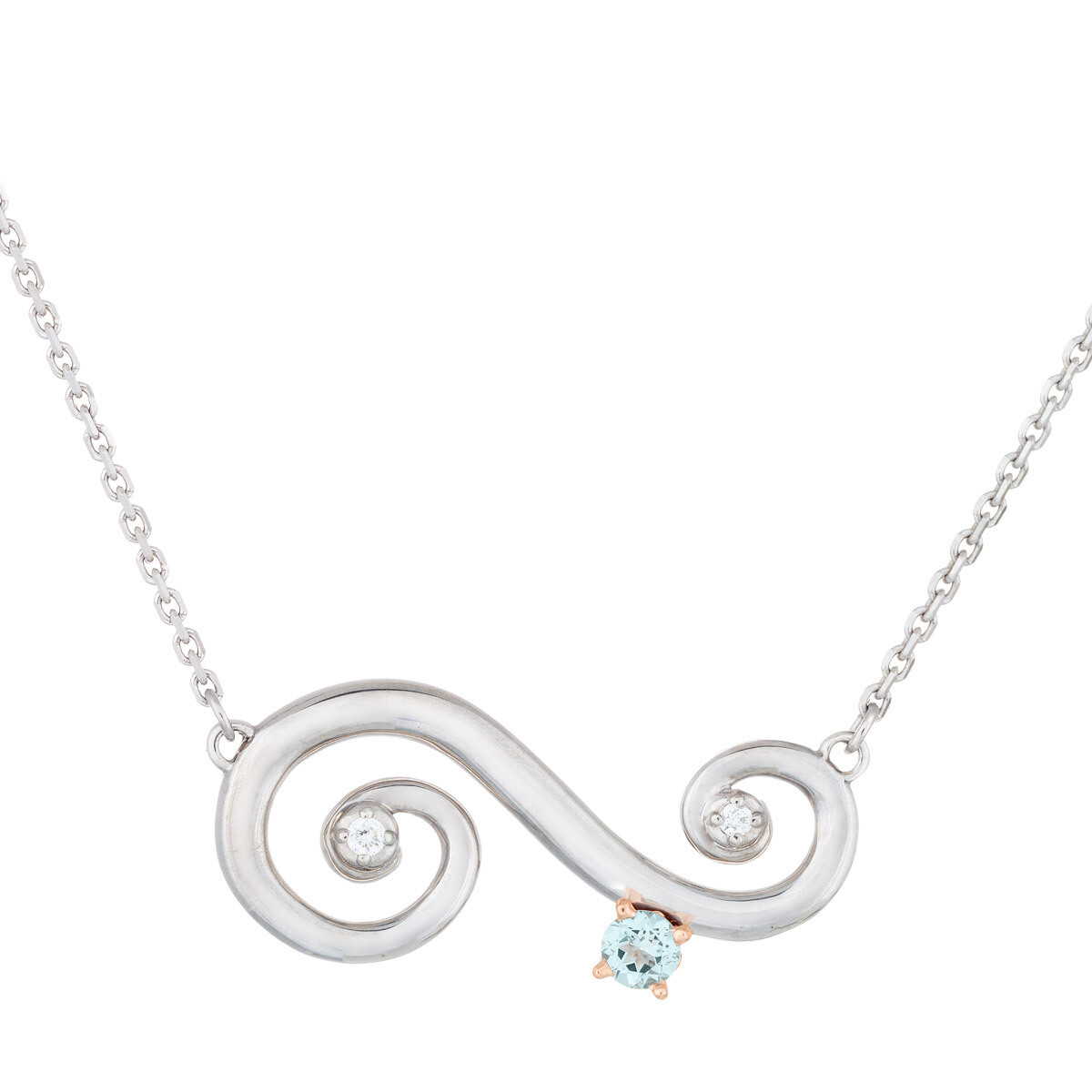 CC Barcelona Scroll© in Sterling Silver