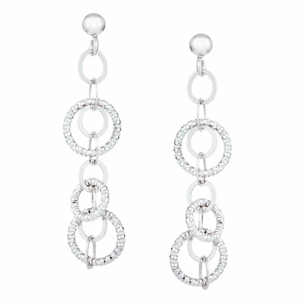 Dangle Circle Earrings