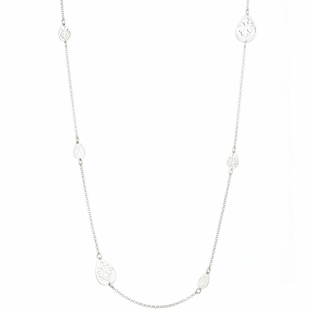 Filigree Station Necklace