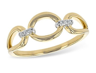 Yellow Gold & Diamond Ring