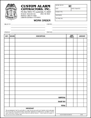 Business Form Design