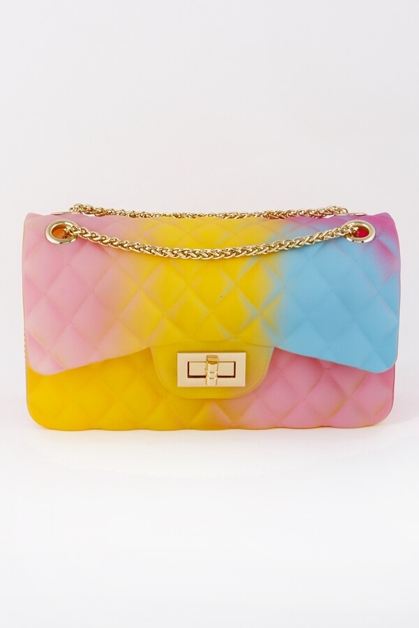 Colorful Jelly Clutch