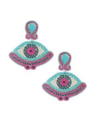 Glam Eyes Earrings