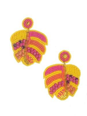 Glam Tropical Earrings
