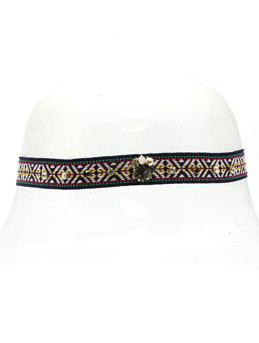Glam Embroidered Headbands