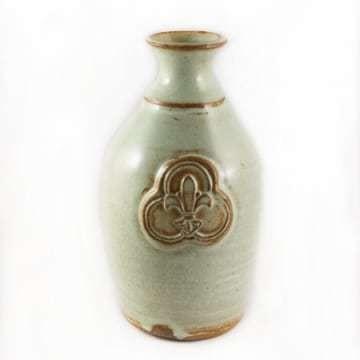 Ceramic Vase Trinity Logo Seafoam