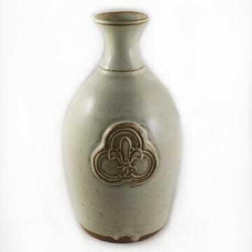 Ceramic Vase Trinity Logo White