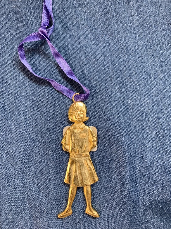 Trinity Girl Ornament