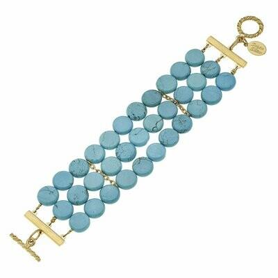 Susan Shaw Turquoise Bracelet