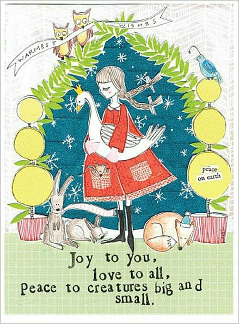 All Creatures Christmas Card Set of 8