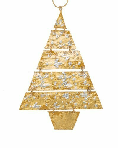 Baroque Sway Gold Tree Ornament