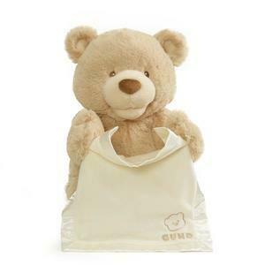 My First Teddy Peek a Boo (Brown)