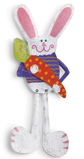 Tall Bunny Door Hanger