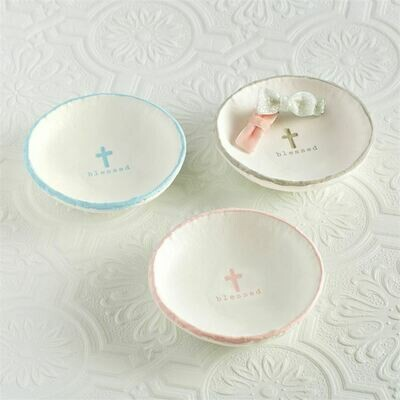 Blessed Trinket Dish - Pink