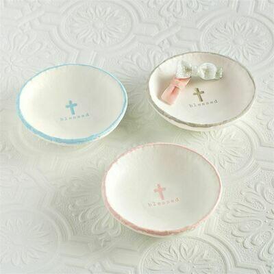 Blessed Trinket Dish - Pink