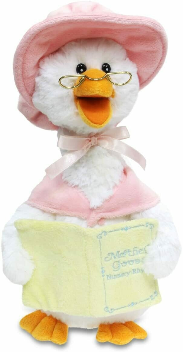 Mother Goose Animated Talking Musical Plush Toy (Pink)