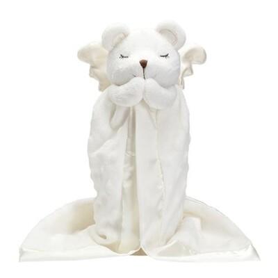 Elegant Baby Praying Angel Bear Blankie