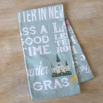 NOLA Life Flour Sack Hand Towel