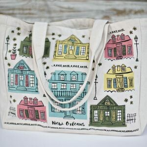 Tote Bag – New Orleans Creole Cottages