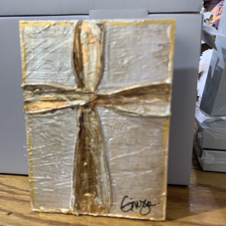 Ginger Leigh Gratitude Cross Art