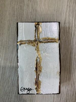 Ginger Leigh Peace Cross Medium