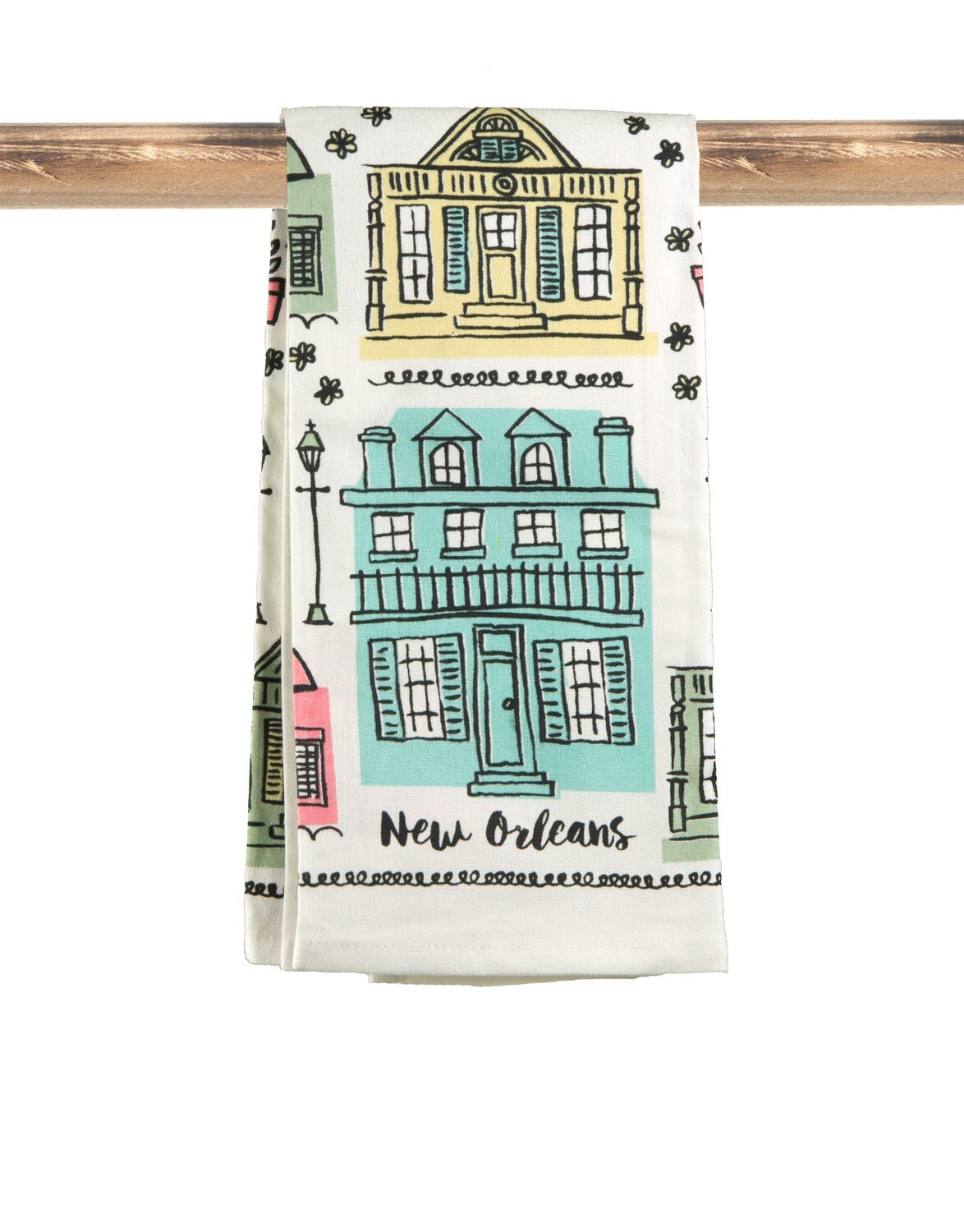 Creole Cottage Flour Sack Kitchen Towel