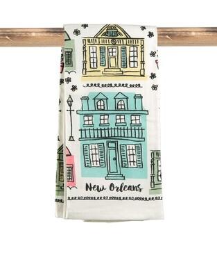Creole Cottage Flour Sack Kitchen Towel