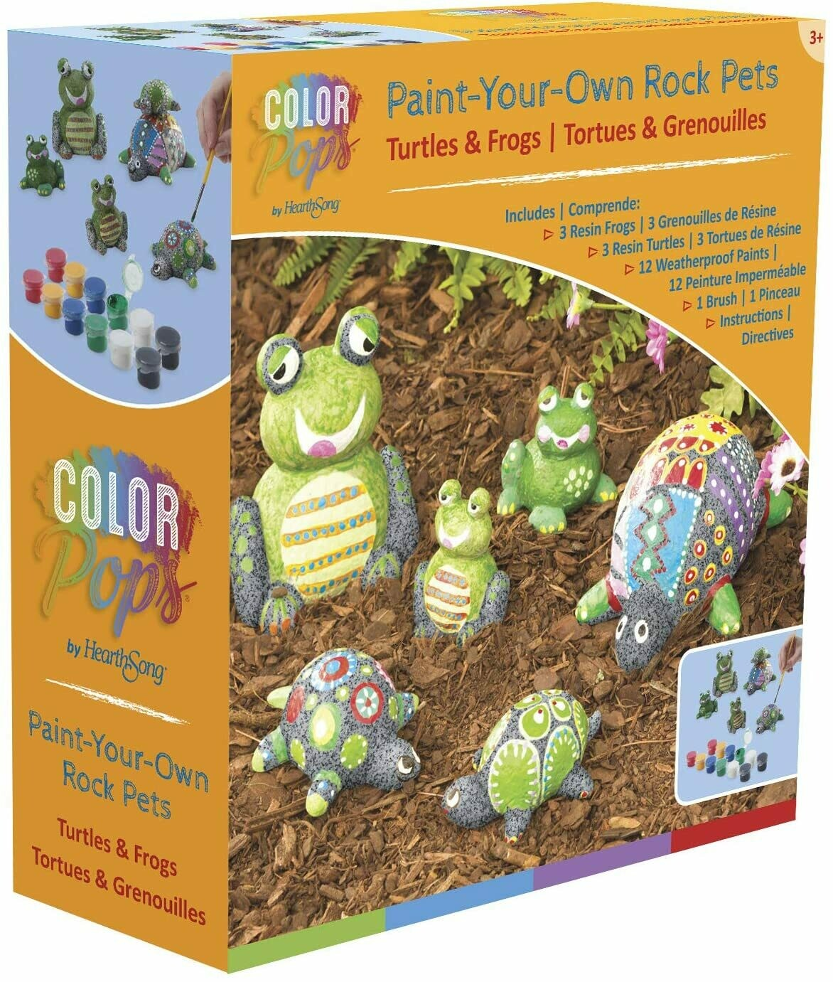 Paint-Your-Own Rocks, Creative Arts and Crafts Painting Kit for Kids
