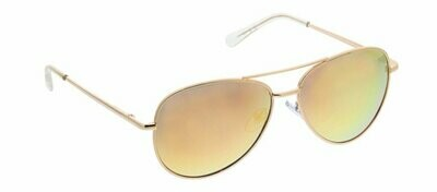 Peepers Heatwave Gold Sunglasses