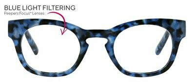 Peepers Blue Light Blocker Nordic Noir Navy