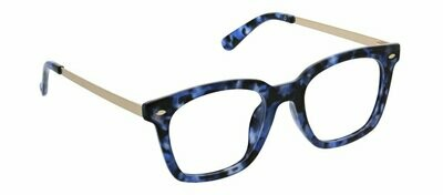 Peepers Blue Light Blocker Limelight Blue Tortoise Focus (2.50)