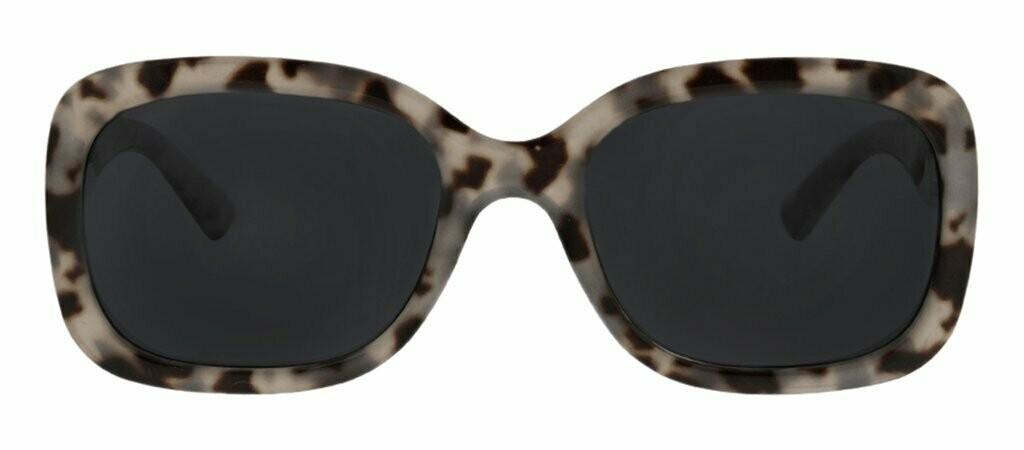 Peepers Polarized Del Mar Sunglasses - Grey Tortoise