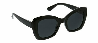 Peepers Polarized Mariposa Sunglasses - Black