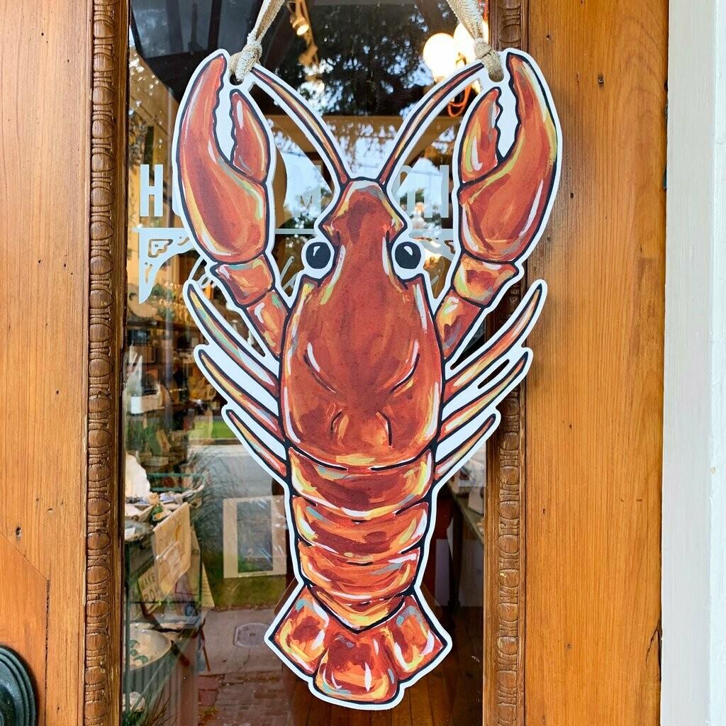 Home Malone Crawfish Door Hanger