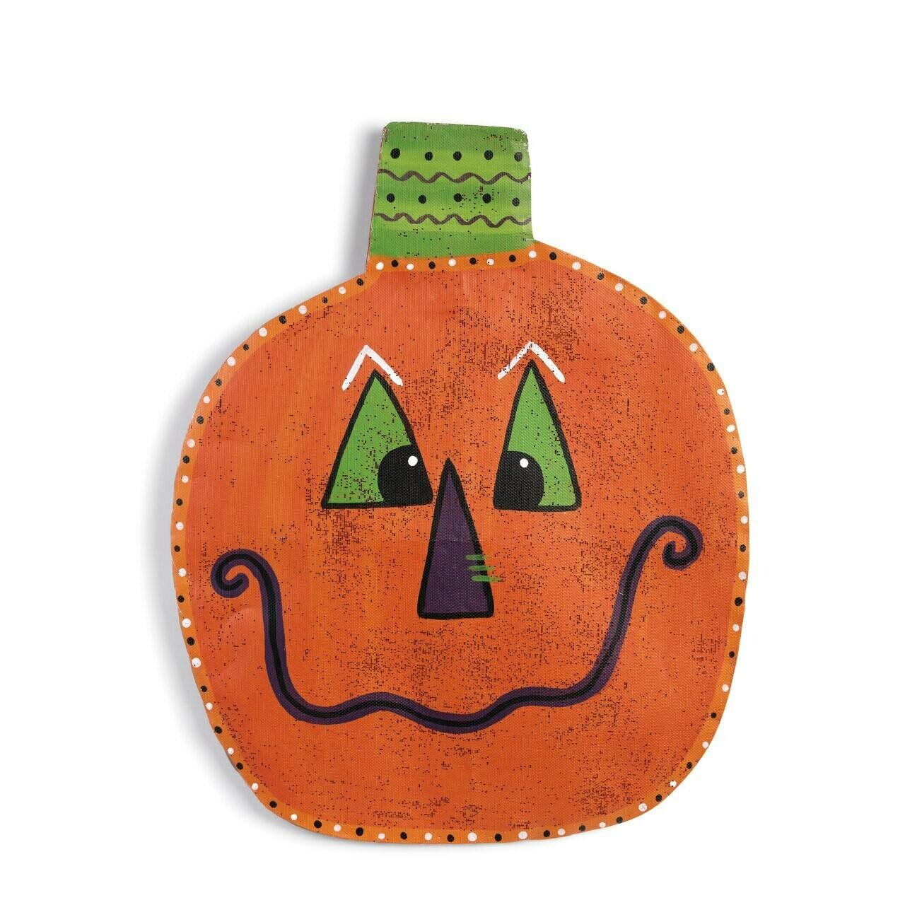 Jack-o'-Lantern Door Hanger