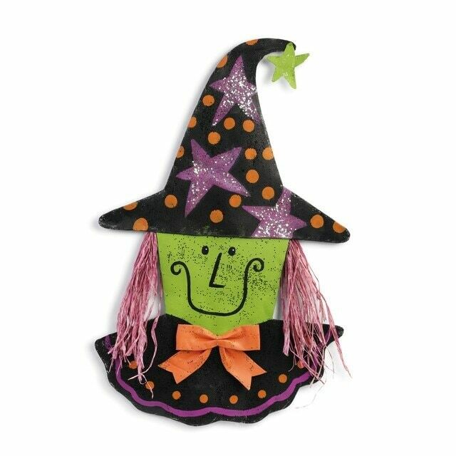 Happy Witch Door Hanger