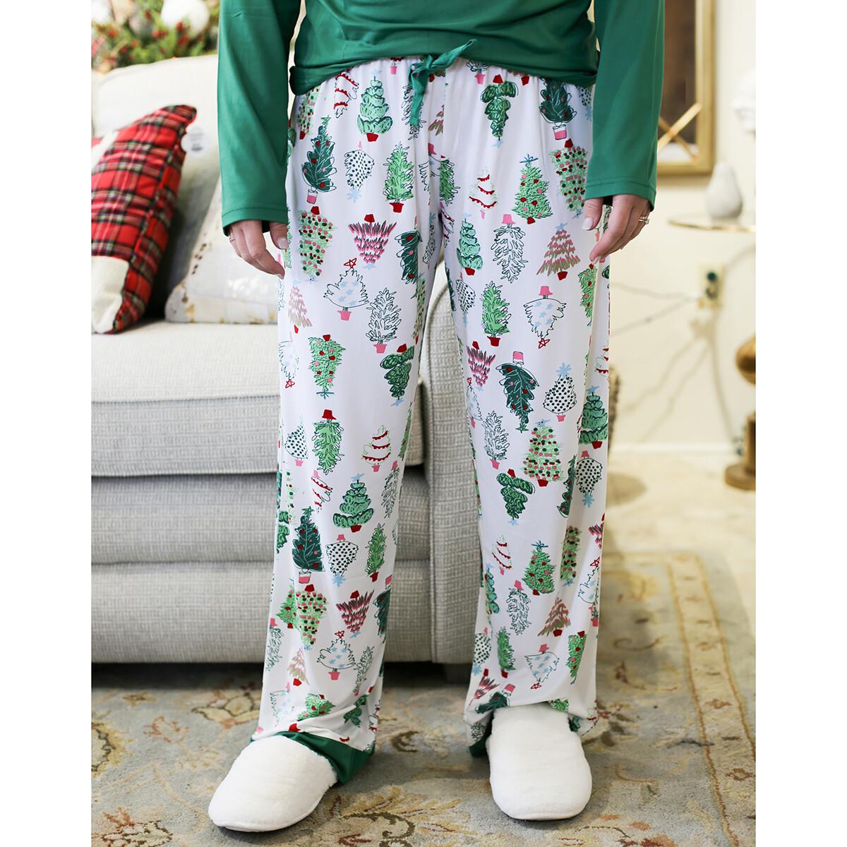 Large Adult Treeful PJ pants