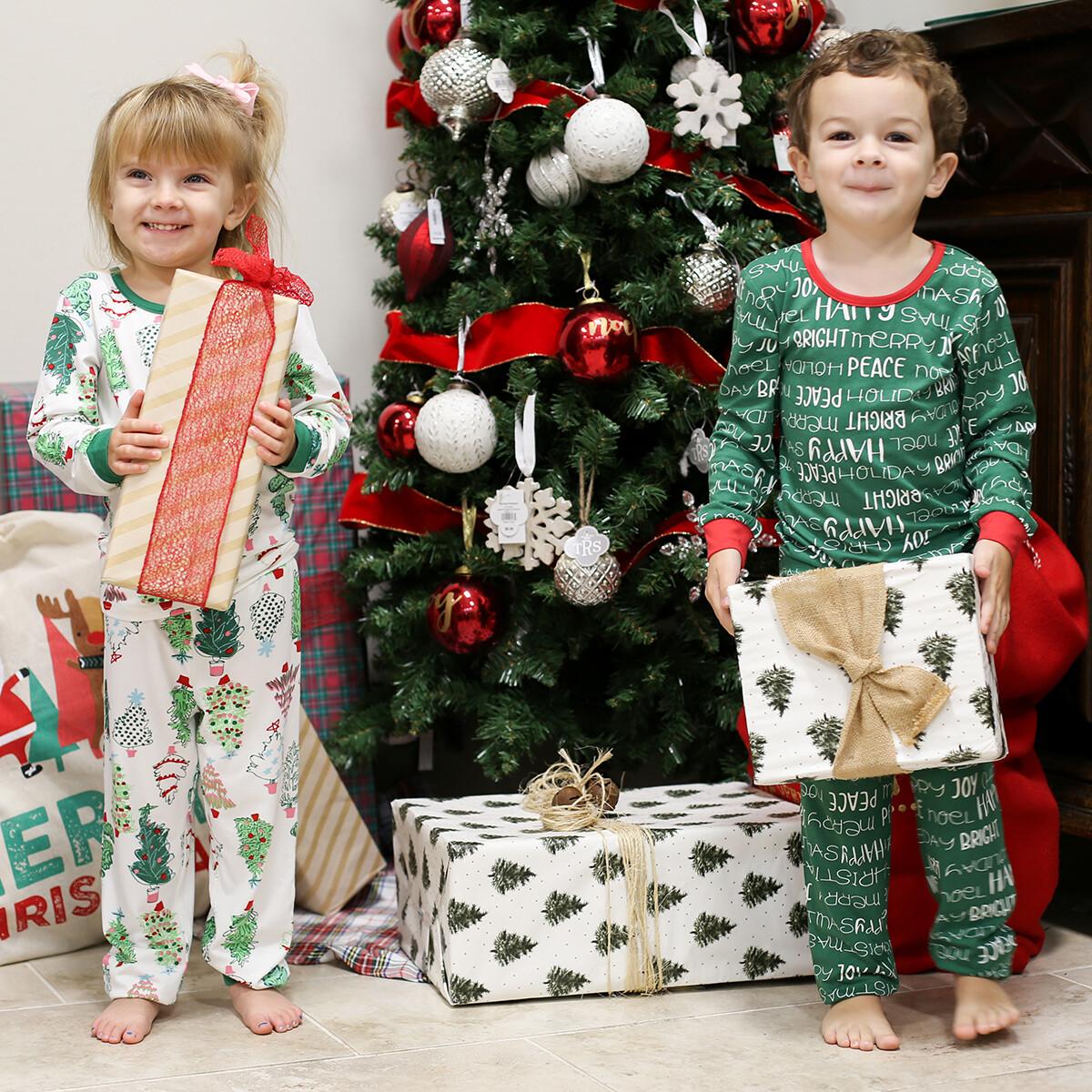 5T Kids Treeful Christmas PJs