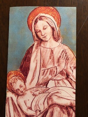 Tim Trapolin Christ Child on Mary's Lap Cards (Pack of 10)
