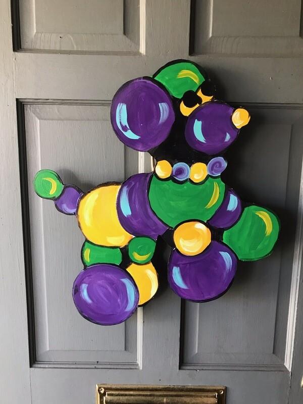 Bead Dog Door Hanger