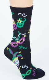 Women 9-11 Mask Socks